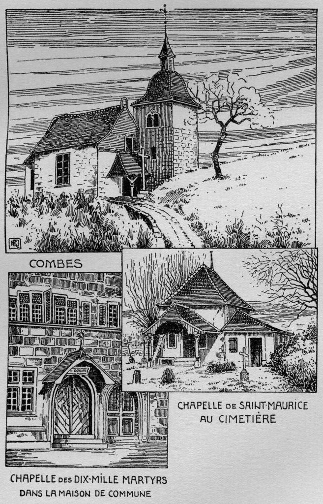 Chapelles des Combes, de St-Maurices et du Landeron