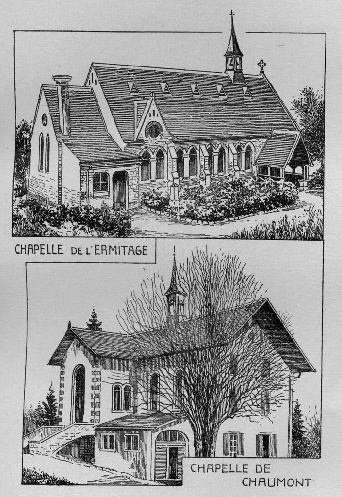 Chapelles de l'Ermitage et de Chaumont