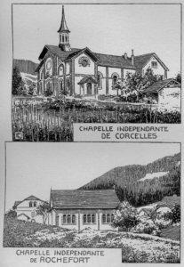 Chapelles indépendantes de Corcelles et Rochefort
