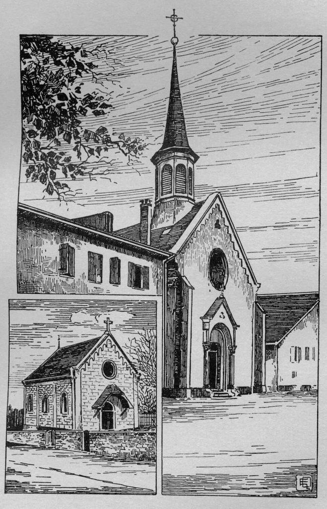 Église catholique de Colombier et chapelle de St-Aubin