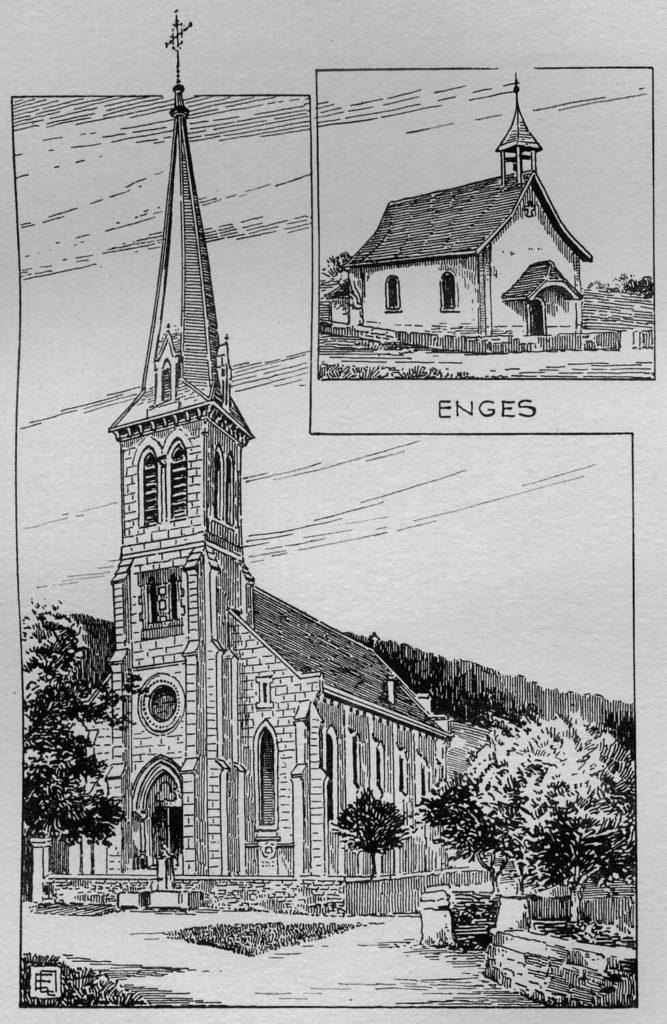 Église catholique de Cressier et chapelle d'Enges