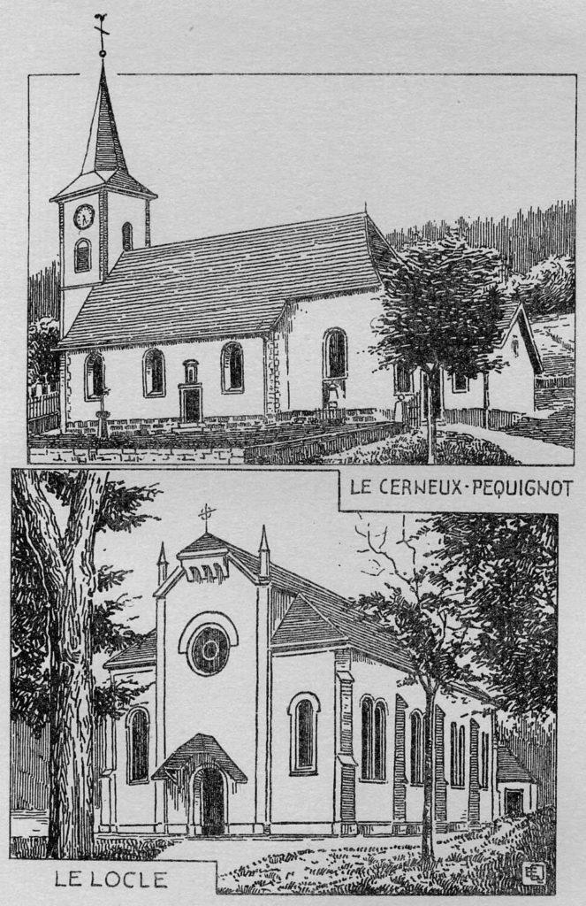 Églises catholiques du Cerneux-Péquignot et du Locle