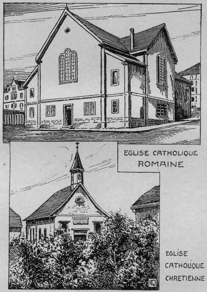 Églises catholique romaine et catholique chrétienne de La Chaux-de-Fonds