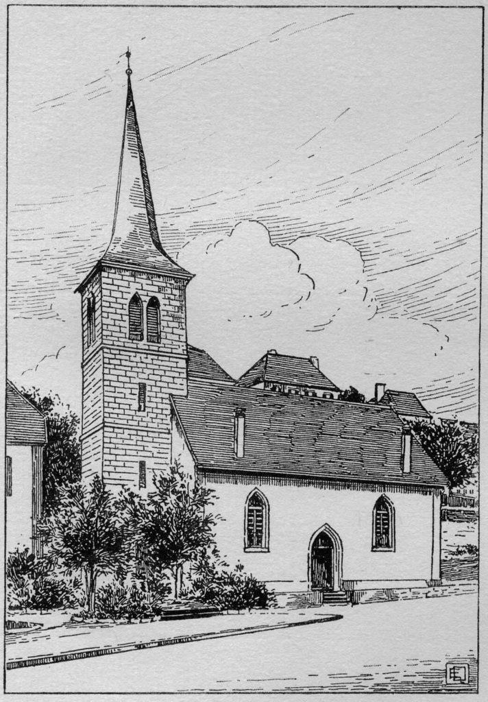 Temple allemand du Locle