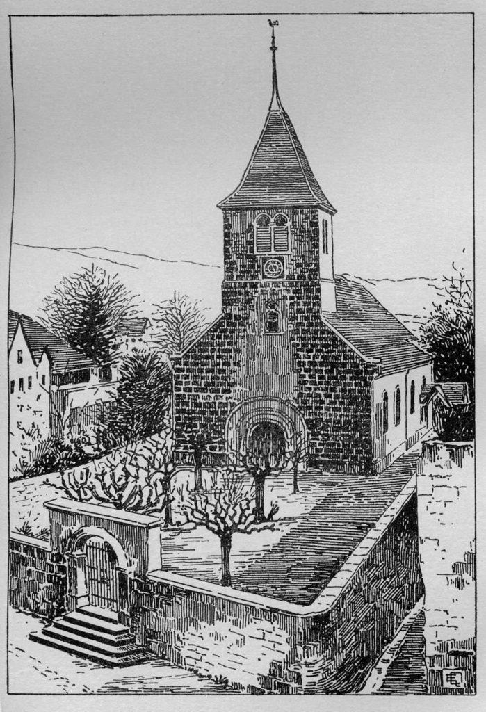 Temple de Bevaix