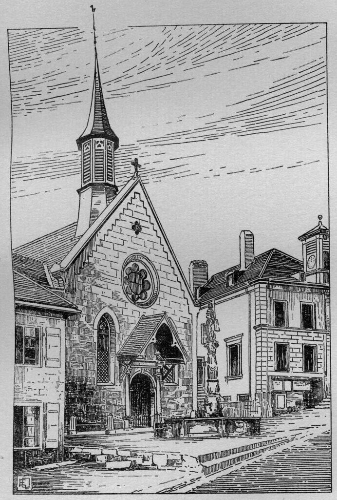 Temple de Boudry