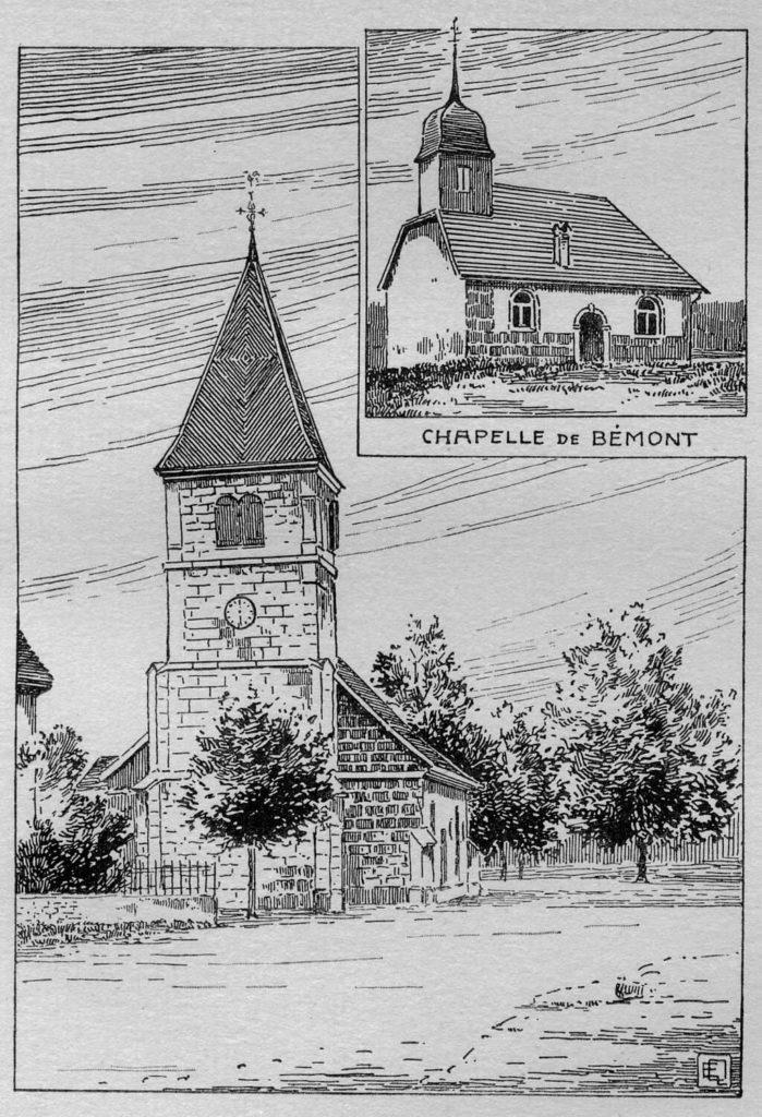 Temple de La Brévine et chapelle de Bémont