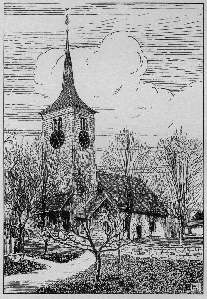 Temple de Chézard-St-Martin