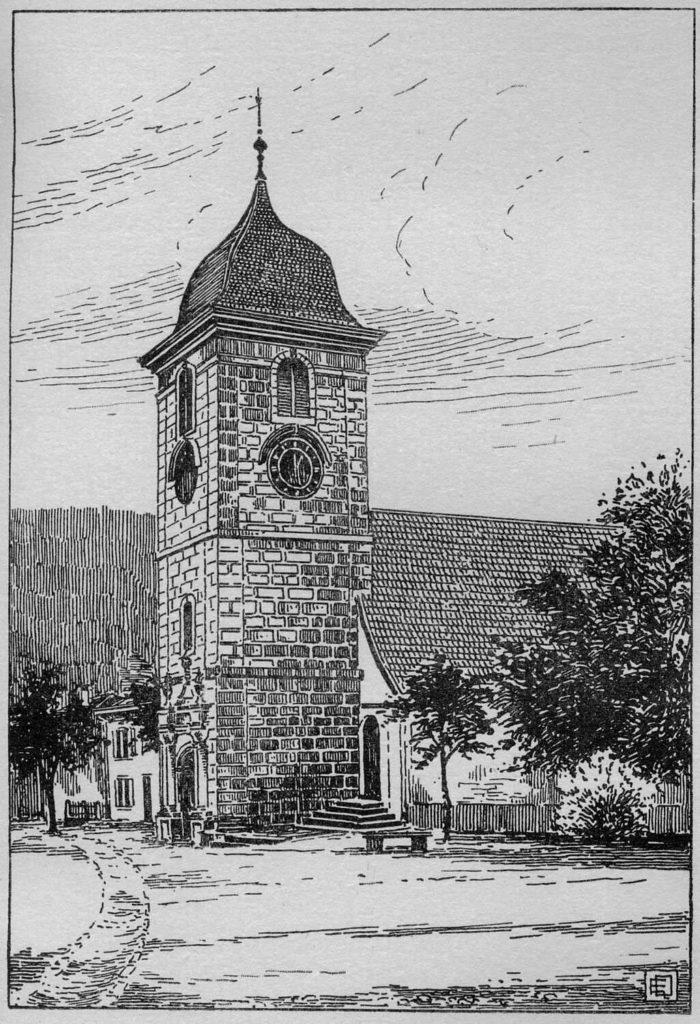 Temple de Couvet