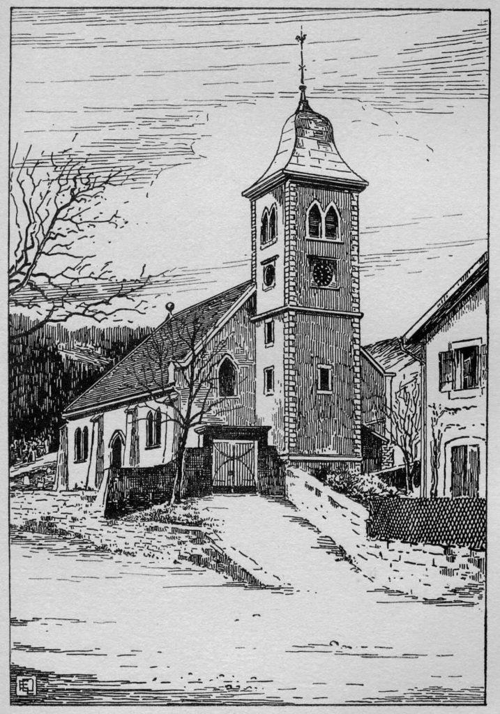 Temple de Noiraigue