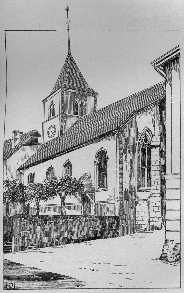 Temple de St-Aubin