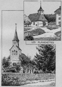 Temples des Éplatures et des Planchettes