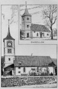 Temples de Savagnier et Engollon